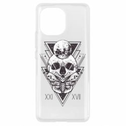 Чохол для Xiaomi Mi11 Skull with insect