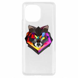 Чехол для Xiaomi Mi11 Сolorful wolf