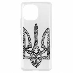Чехол для Xiaomi Mi11 Striped coat of arms
