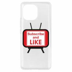 Чохол для Xiaomi Mi11 Subscribe and like youtube
