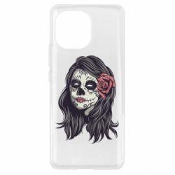 Чехол для Xiaomi Mi11 Sugar girl with a rose