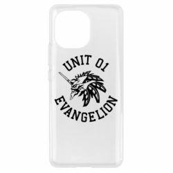 Чехол для Xiaomi Mi11 Unit 01 evangelion