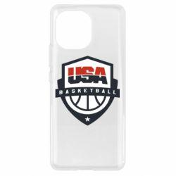 Чехол для Xiaomi Mi11 USA basketball