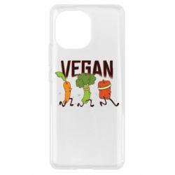 Чохол для Xiaomi Mi11 Веган овочі