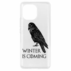 Чохол для Xiaomi Mi11 Winter is approaching and crow