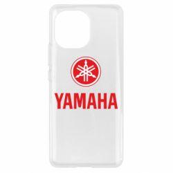 Чохол для Xiaomi Mi11 Yamaha Logo(R+W)
