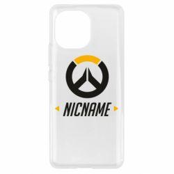 Чехол для Xiaomi Mi11 Your Nickname Overwatch