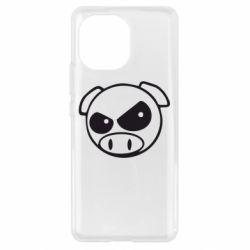 Чохол для Xiaomi Mi11 Зла свинка