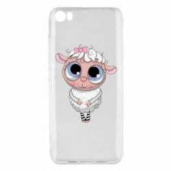 Чехол для Xiaomi Mi5/Mi5 Pro Cute lamb with big eyes