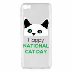 Чехол для Xiaomi Mi5/Mi5 Pro Happy National Cat Day