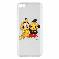 Чехол для Xiaomi Mi5/Mi5 Pro Mickey and Pikachu