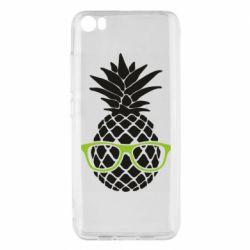 Чехол для Xiaomi Mi5/Mi5 Pro Pineapple with glasses