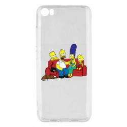 Чехол для Xiaomi Mi5/Mi5 Pro Simpsons At Home