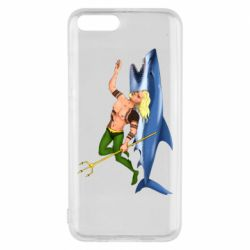 Чехол для Xiaomi Mi6 Aquaman with a shark