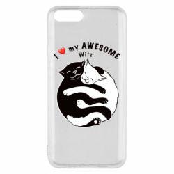 Чехол для Xiaomi Mi6 Cats with a smile