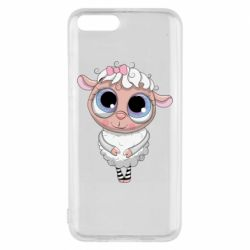Чехол для Xiaomi Mi6 Cute lamb with big eyes
