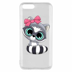 Чехол для Xiaomi Mi6 Cute raccoon