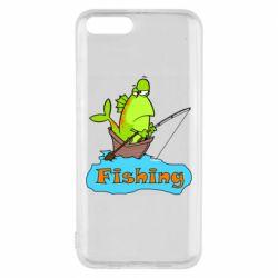 Чехол для Xiaomi Mi6 Fish Fishing