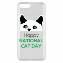 Чехол для Xiaomi Mi6 Happy National Cat Day