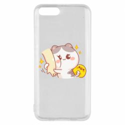 Чохол для Xiaomi Mi6 Кішка тримає руку