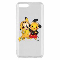 Чехол для Xiaomi Mi6 Mickey and Pikachu