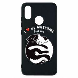 Чехол для Xiaomi Mi8 Cats and love
