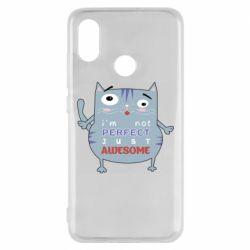 Чехол для Xiaomi Mi8 Cute cat and text