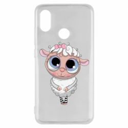 Чехол для Xiaomi Mi8 Cute lamb with big eyes