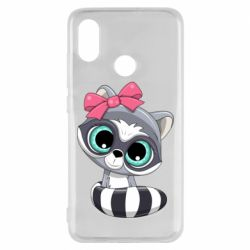 Чехол для Xiaomi Mi8 Cute raccoon
