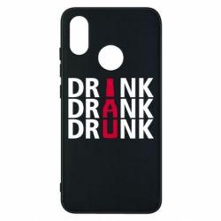 Чехол для Xiaomi Mi8 Drink Drank Drunk