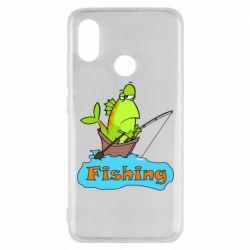 Чехол для Xiaomi Mi8 Fish Fishing