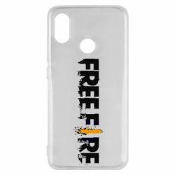 Чехол для Xiaomi Mi8 Free Fire spray