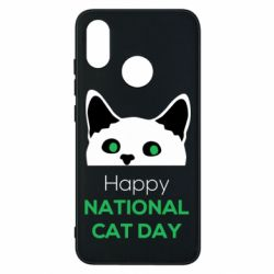 Чехол для Xiaomi Mi8 Happy National Cat Day