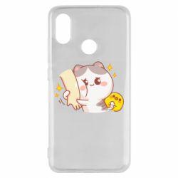 Чохол для Xiaomi Mi8 Кішка тримає руку