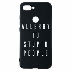 Чехол для Xiaomi Mi8 Lite Allergy To Stupid People