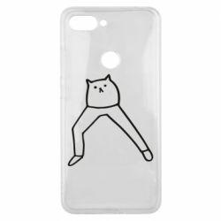 Чохол для Xiaomi Mi8 Lite Cat in pants