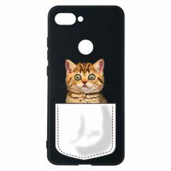 Чехол для Xiaomi Mi8 Lite Cat in your pocket