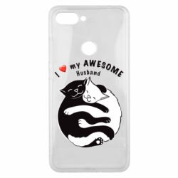 Чехол для Xiaomi Mi8 Lite Cats and love