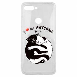 Чехол для Xiaomi Mi8 Lite Cats with a smile