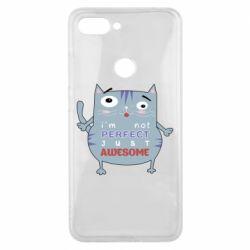 Чехол для Xiaomi Mi8 Lite Cute cat and text