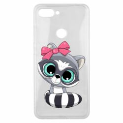 Чехол для Xiaomi Mi8 Lite Cute raccoon