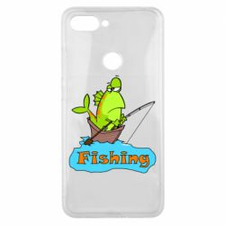 Чехол для Xiaomi Mi8 Lite Fish Fishing
