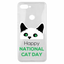 Чехол для Xiaomi Mi8 Lite Happy National Cat Day