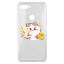 Чохол для Xiaomi Mi8 Lite Кішка тримає руку