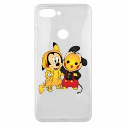Чехол для Xiaomi Mi8 Lite Mickey and Pikachu