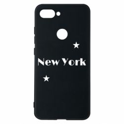 Чехол для Xiaomi Mi8 Lite New York and stars