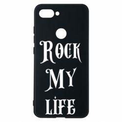 Чехол для Xiaomi Mi8 Lite Rock my life