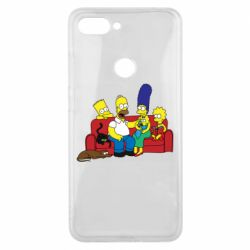 Чехол для Xiaomi Mi8 Lite Simpsons At Home