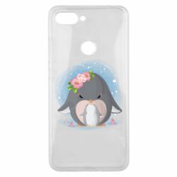Чехол для Xiaomi Mi8 Lite Two cute penguins