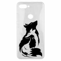 Чехол для Xiaomi Mi8 Lite Wolf And Fox